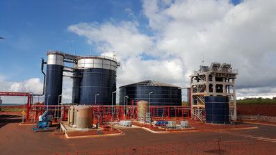 Fabrica de cervezas aguas residuales tratamiento Aqualimpia