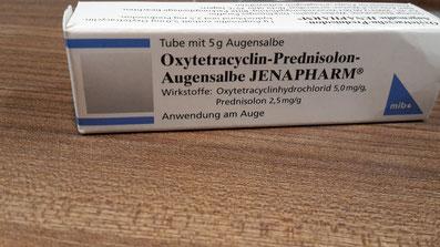antibiotische Augensalbe bei Trockenen Augen