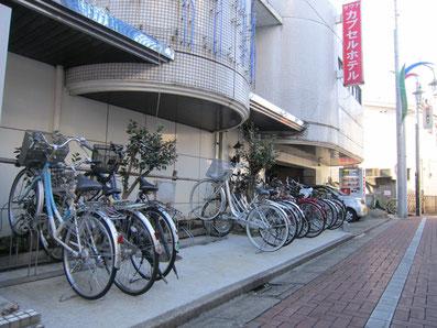 無料駐輪場(バイク禁止)