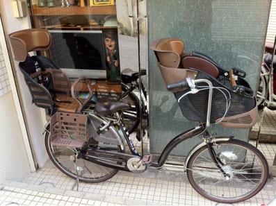 あさひプチママン子供乗せ自転車