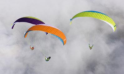 Gleitschirm-Schulungsinfos: Höhenfluge