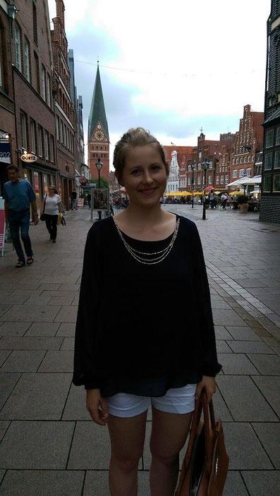 Melanie Ohme beim Lüneburger Schachfestival 2015