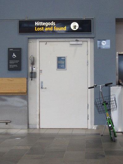 Lost and found, Flughafen Tromsø