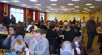 Böblinger Schach-Open 2011, Blick in den Turniersaal