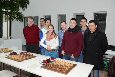 2. Schachbundesliga 2016 in Magdeburg, Neuberger Team