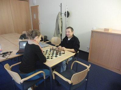 Trainingslehrgang, Frauennationalmannschaft Schach