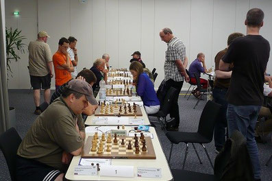Lüneburger Schachfestival 2013, Turniersaal