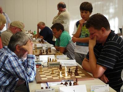 Dr. Rausis - Kopylov, Lüneburger Schachfestival 2013