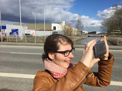 Melanie Lubbe in Dänemark