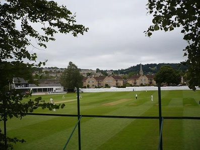 Cricket in Bath