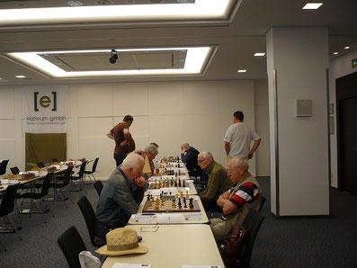 Lüneburger Schachfestival 2013, Seniorenturnier