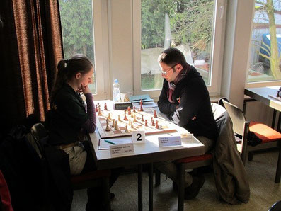 Melanie Lubbe (geb. Ohme), Schachfreunde Neuberg