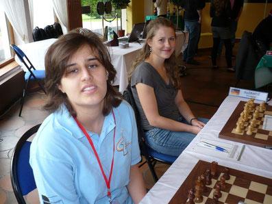 Filiz Osmanodja, Melanie Lubbe, Mitropa Cup 2011