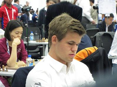 Magnus Carlsen, Schacholympiade Tromsø 2014