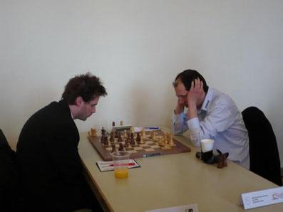 Zentrale Endrunde, Schachbundesliga 2013 in Schwetzingen