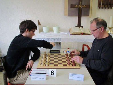 Aaron Knickel, Schachfreunde Neuberg