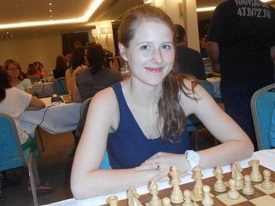 Melanie Lubbe (geb. Ohme), griechische Liga 2013 in Patras