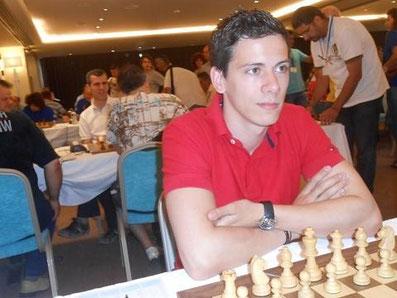 Nikolas Lubbe, griechische Liga 2013 in Patras