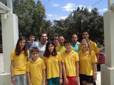 Impressionen von der griechischen Liga (Schach) 2013 in Patras