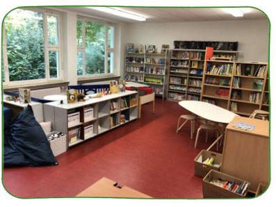 Blick in die Bücherei der SAL