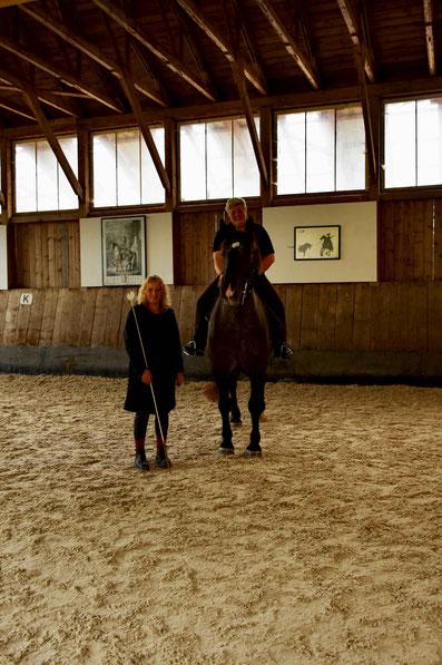 Elke, Kurti und ich