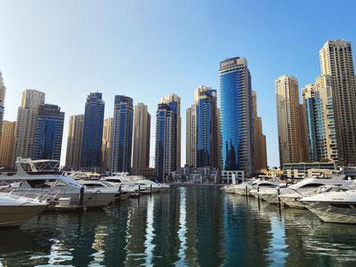 Die Marina in Dubai
