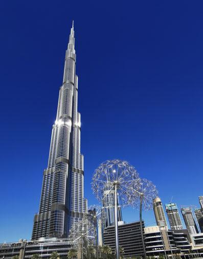 Der Burj Khalifa - Das höchste Gebäude der Welt
