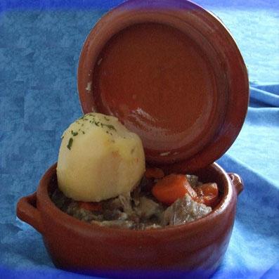 Pot de tête de veau par le restaurant du marché adhérent de l'ucal à lezay 79120