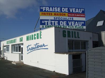 le restaurant du marché à Lezay adhérent à l'Ucal
