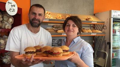 Stéphane et Sandrine Jardet, boulangers à Lezay, membres de l'UCAL