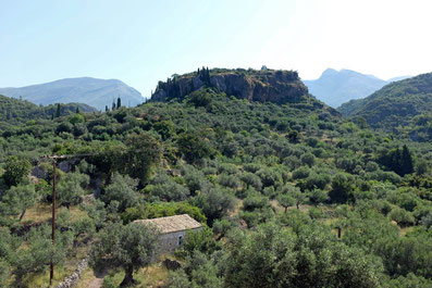 Kardamili Taygetos Wanderung Peloponnes