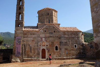 Agios-Spiridon Church in old town Kardamyli