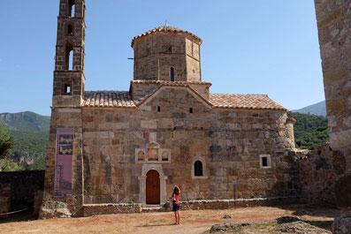Agios-Spiridon Church in old town Kardamyli eloponnes