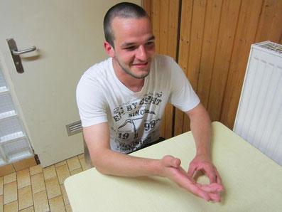 Stellt sich den kritischen Fragen seiner Fans: Marcel Lechleitner
