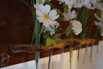 Magnet Vasen und Teelichthalter