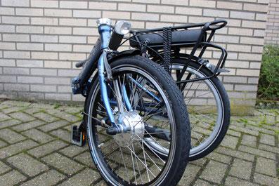 Dahon Vouwfiets met ombouwset van Fonebike Fiets Ombouwcentrum Nederland