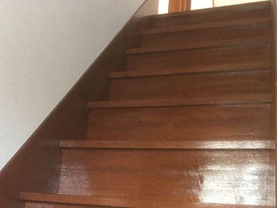 内装塗装~階段~