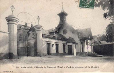 Visite d'Hector Malot à l'Asile d'Alienes de Clermont