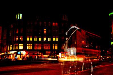Foto de Berlin (Rosenthaler Platz) realizada por Alvaro D Iñigo para la pagina Web de Red booster