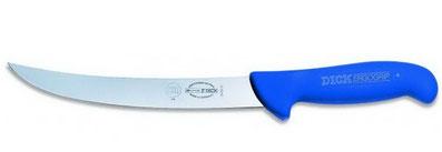 Rutschfestes Blockmesser, blaues Messer, Messer mit ergonomischen Griff