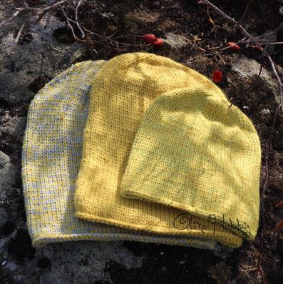 мужская вязаная шапка, вязаная шапка для мужчины, детская вязаная шапка, вязаная шапка для мальчика, желтая вязаная шапка, вязаная шапка-носок, family look