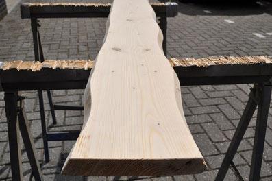 steigerhout boomstamlook