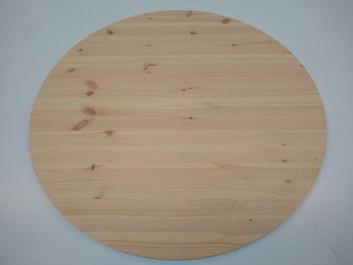 ronde tafelbladen grenenhout