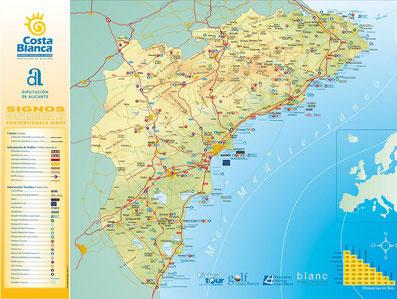 Moraira Spain Map.Your Villa In Spain De Website Van Mymorairavilla
