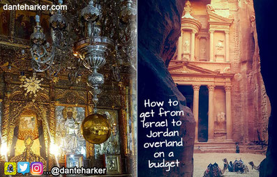 How to get from Israel to Jordan overland on a tight budget