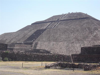 Teotihuacan in Mexico by Dante Harker