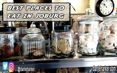 Best places to eat in Joburg