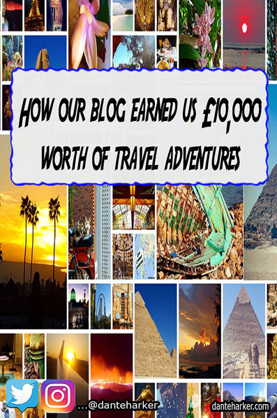 How our blog got us £10,000 worth of travel adventures