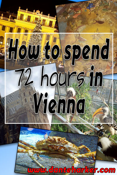72 hours in Vienna - more info at Danteharker.com