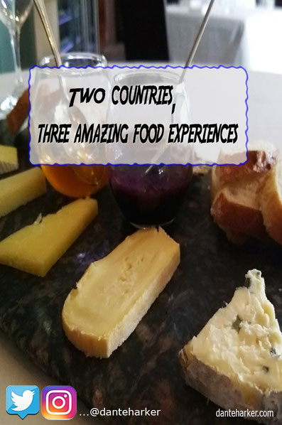 3 countries, three amazing food experiences